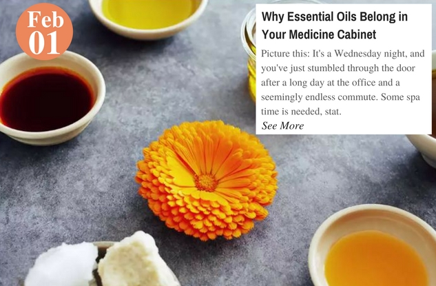 Why Essential Oils Belong in Your Medicine Cabinet