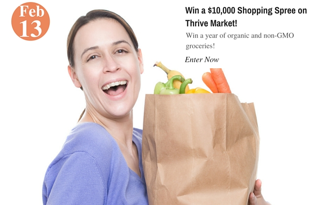 Win a $10,000 Shopping Spree on Thrive Market!