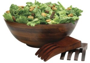 Cherry Salad Bowl 3 Piece Set