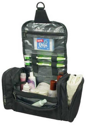 Deluxe Travel Kit Organizer with Hanging Hook