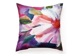 Floral Outdoor Pillow