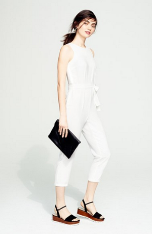 GLAMOROUS Belted Jumpsuit