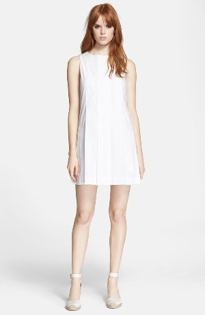 MARC BY MARC JACOBS Pleated Shift Dress