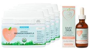 Organic Infant Formula + DHA Bundle