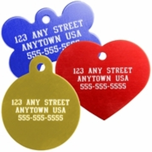 Personalized Pet Tags - Cat & Dog Tags