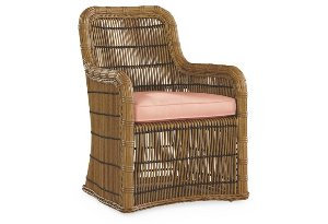Rafter Dining Armchair, Rose