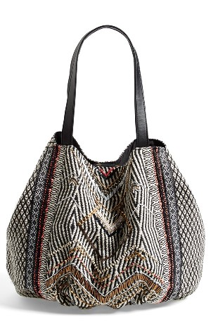 Street Level Beaded Tote