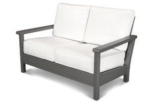 Tahoe Deep Seating Settee, Natural