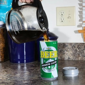 The Beer Can Travel Mug