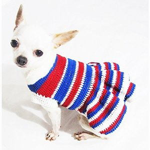 USA Patriotic Day Dog Costume 4th of July