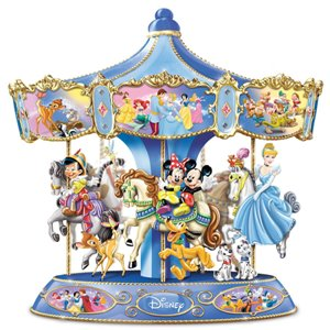 Wonderful World Of Disney Musical Rotating Carousel