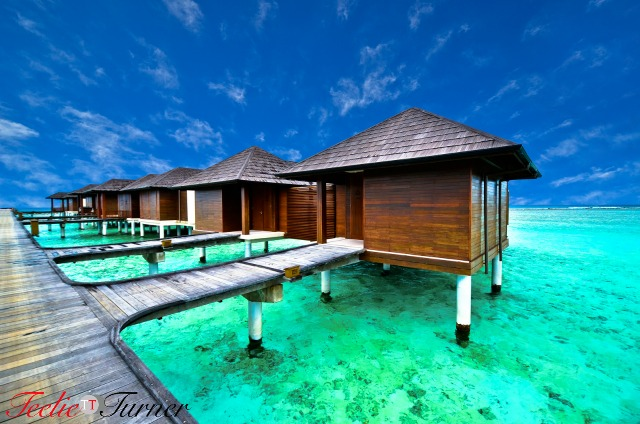 Amazing water villa in beautiful beach in Maldives