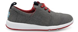 BLACK CHAMBRAY YOUTH DEL REY SNEAKERS