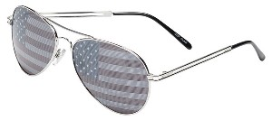 BP. American Flag Aviator Sunglasses
