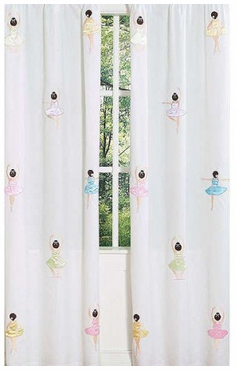 Ballerina 2 Piece Curtain Panels