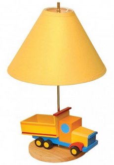 Boys Like Trucks Lamp
