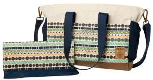 Canvas Tote Diaper Bag