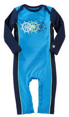 Coolibar UPF 50+ Baby Swim Romper - UV Swimwear