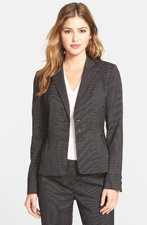 Halogen® 'Darling Dot' Suit Jacket