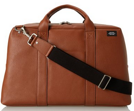 Jack Spade Mason Leather Wayne Duffel Bag