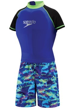 Speedo Kids' UPF 50+ Begin to Swim Polywog Swimsuit
