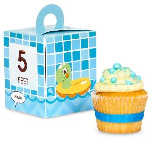 Splashin' Pool Party Cupcake Boxes
