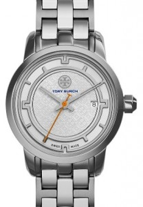 Tory Burch 'Tory' Small Round Bracelet Watch
