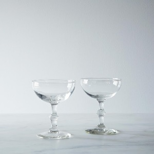 Vintage Champagne Coupes