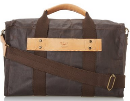 Will Leather Men's Waxed Canvas Duffle