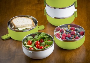 3 Tier Stainless Steel Lunchbox by Modernhome