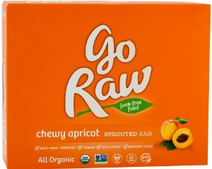 Chewy Apricot 12 g (10ct) - Go Raw