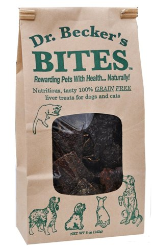 Dr. Becker's Bites Grain Free Liver Treats For Dogs & Cats