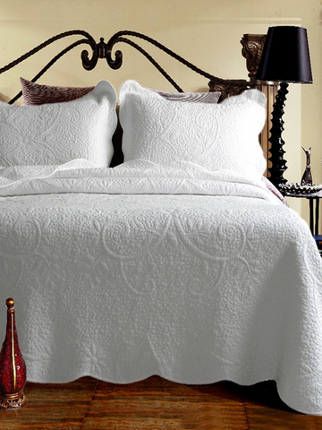 Exquisite Quilting Seam Soft Bedding Sets