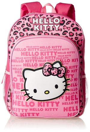 Fast Forward Girl's Hello Kitty 3D Eva Molded Backpack