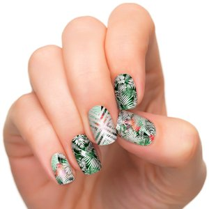 Incoco Nail Polish Strips, Tropical Escape Collection, Tropical Getaway