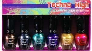 KLEANCOLOR Techno High - Metallic Nail Lacquer Mini Collection