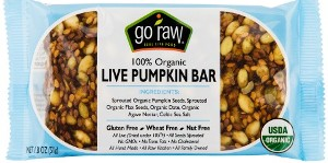 Live Pumpkin Bar 1.8 oz (20ct) - Go Raw