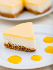 New York-Style Lemon Cheesecake