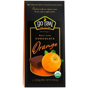 Real Live Chocolate Orange (6 pc) - Go Raw