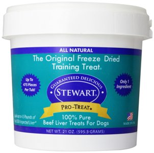 Stewart's Pro-Treat 1 Ounce Bag Freeze Dried Dog Treats