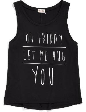 Ten Sixty Sherman 'Let Me Hug You' Graphic Tank