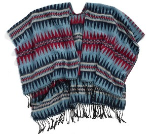 The Accessory Collective Fringed Ruana