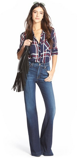 7 For All Mankind® 'Ginger' Flare Jeans