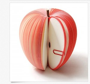 Apple Shaped Memo Note Pad
