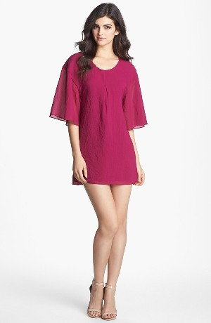 Dress the Population 'Brooklyn' Crepe Shift Dress