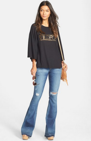 Hudson Jeans 'Mia' Mid Rise Flare Jeans