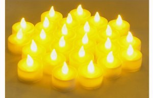 Instapark® LCL Series Battery-powered Flameless LED Tealight Candles