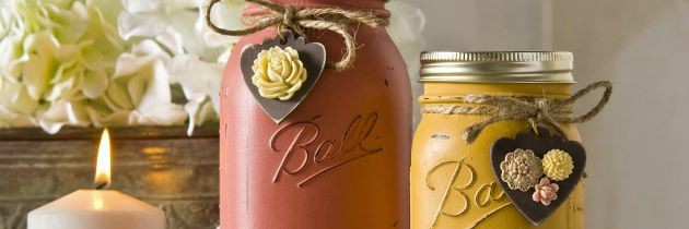 Fall Crafts: Mason Jar Creations Perfect for Autumn