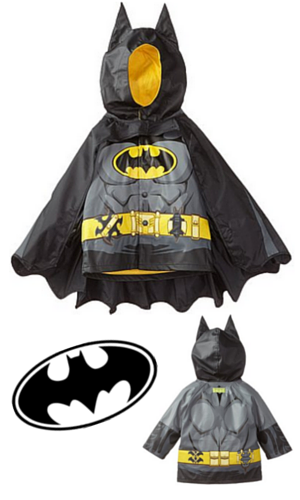 10. Western Chief Little Boys' Batman Raincoat