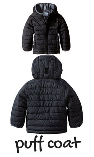 2. Columbia Boys' Powder Lite Puffer Jacket